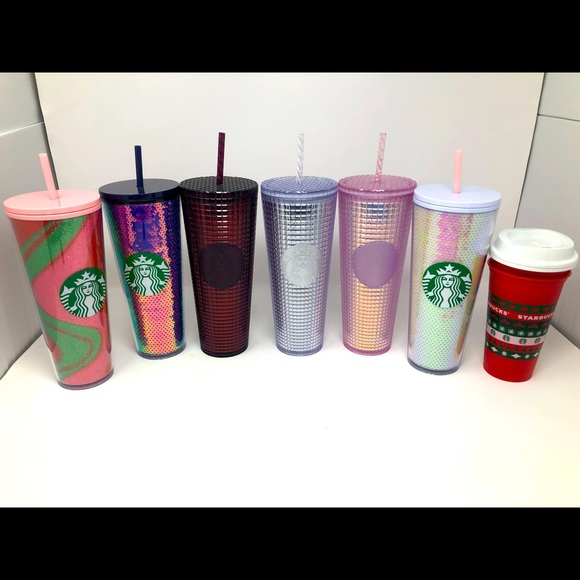 2020 Holiday Starbucks tumbler/ cup Lot of 8